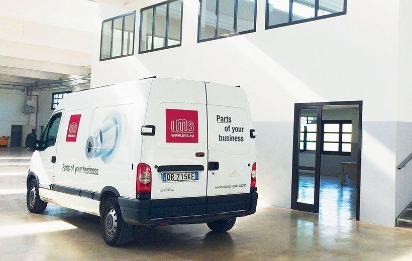 IMS furgone azienda